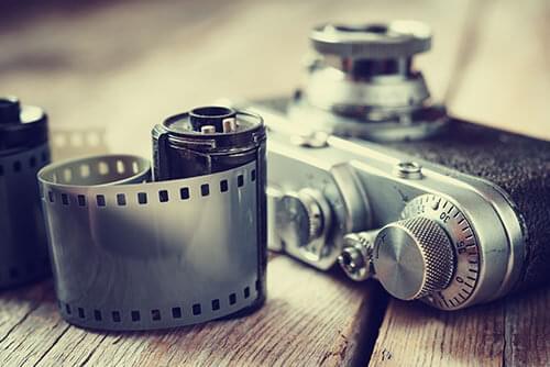 Analog fotografering ar charmigt
