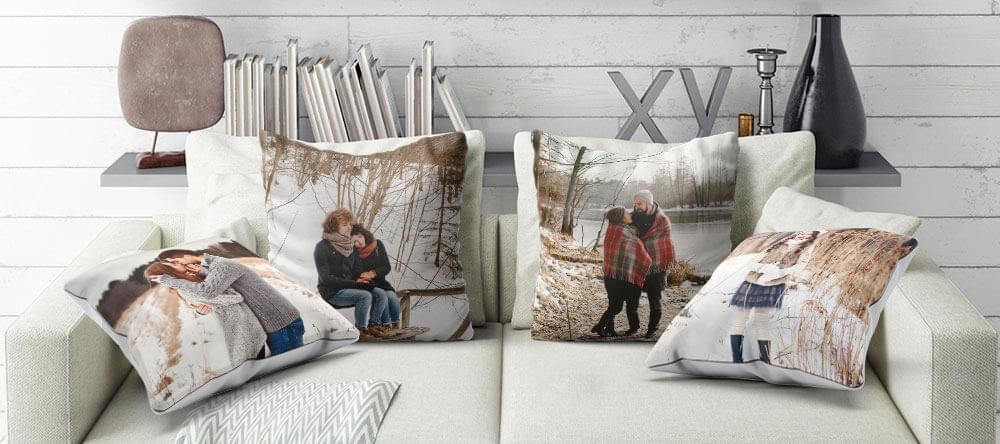 Kanske den viktigaste platsen på vintern: en bekväm soffa med mjuka kuddar