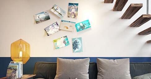 Skapa enkelt dina egna väggdekorationer