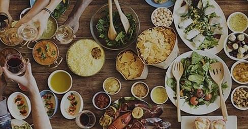 Ett sagolikt vackert bord