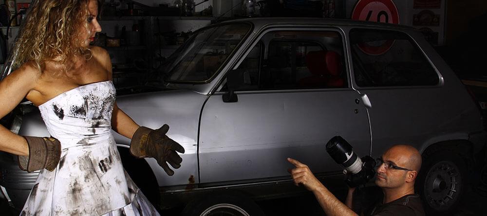 Bättre att vara smutsig än en prinsessa: fotografering för motorälskare.