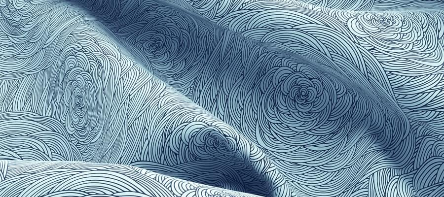 Kreativt, individuellt och kan ändras snabbt - gardiner med din design