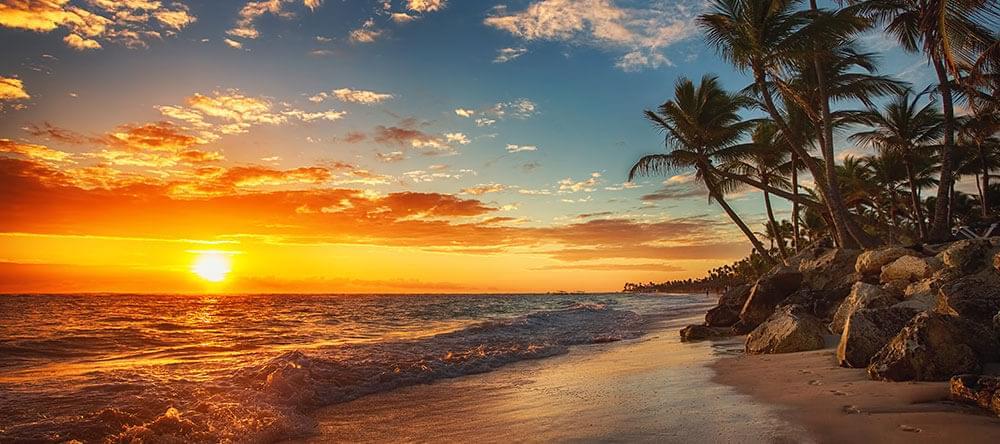 Även om båda halvorna av bilden är vackra, bör du aldrig fotografera horisonten i mitten