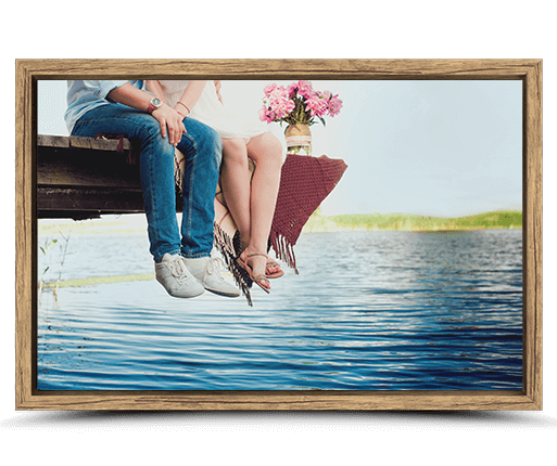 canvas foto ram ekkansla sedd framifran