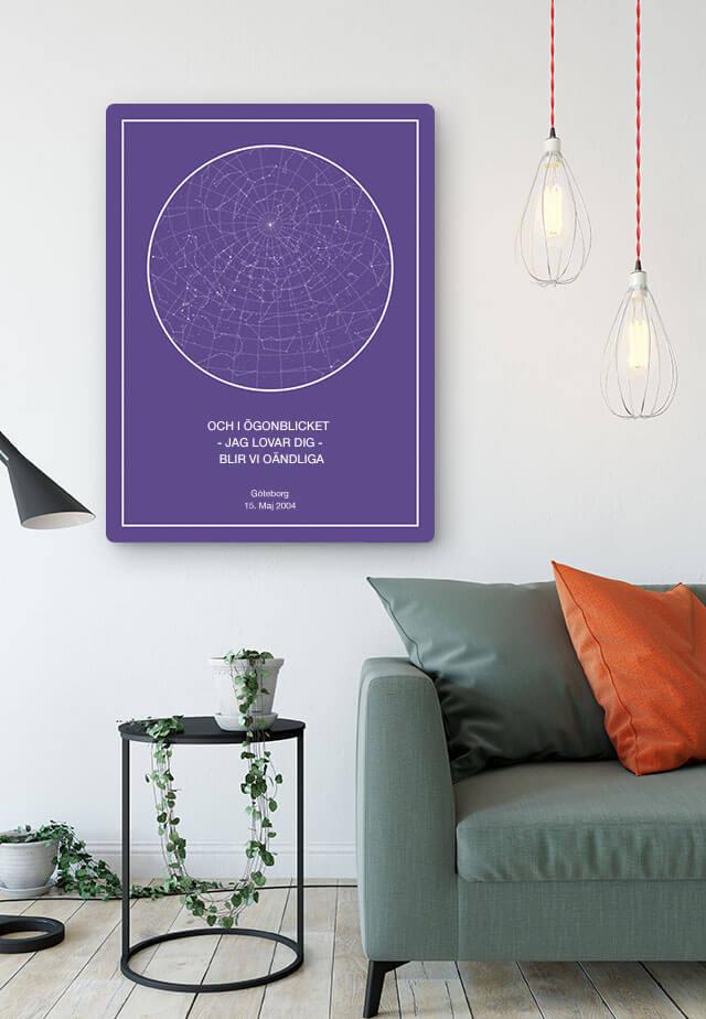 personlig stjärnkarta