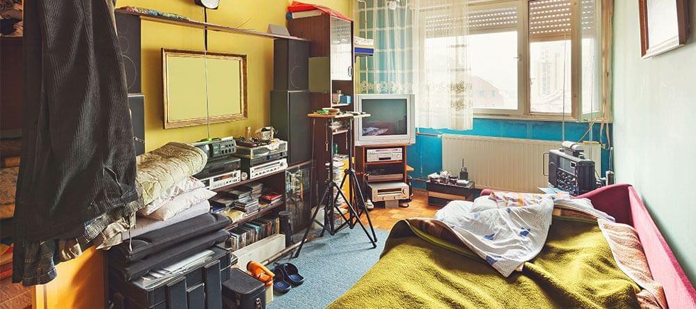 Breng orde in de chaos door kasten, planken, en het gebruik van ruimte in hoeken