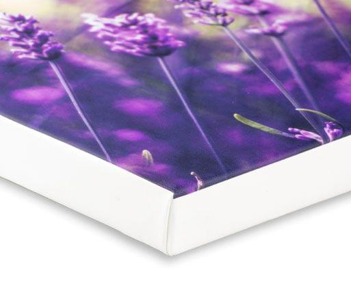canvas prints with white border