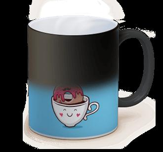 personalized magic photo mug