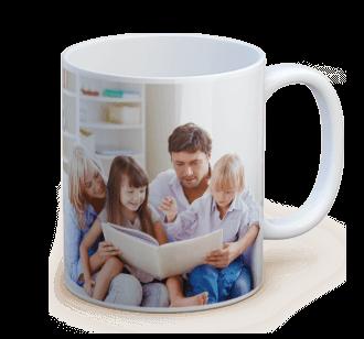 personalized standard photo mug