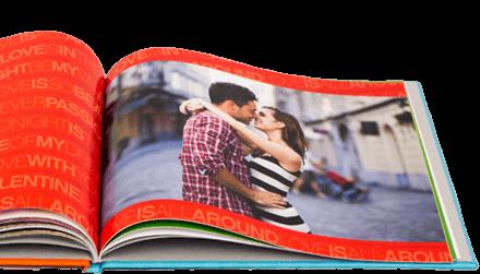 Fotobuch. Glücklicher Paare