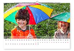 Personalisierte Fotokalender