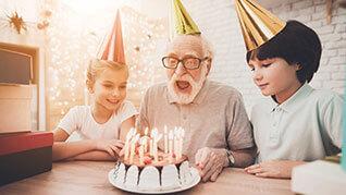 Happy Birthday Geburtstagkuchen Fotografie