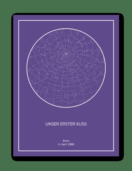 sternenhimmel violett