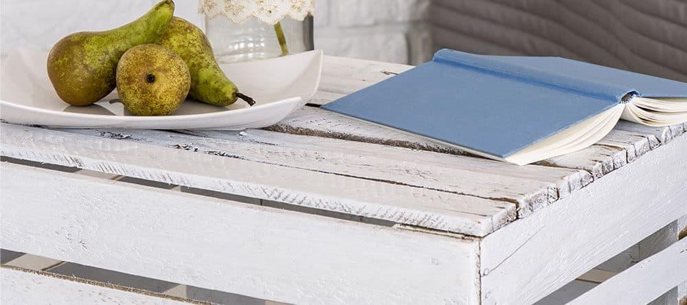 Stichwort Upcycling: Aus alten Kisten und Paletten machst du ganz einfach neue Möbel