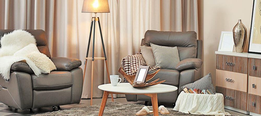 Helle Brauntöne bringen dieses Jahr ein natürliches Flair in deine Wohnung