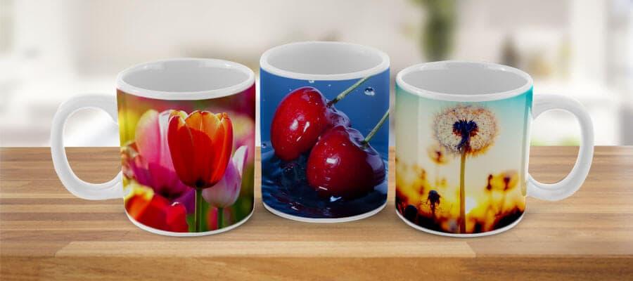 Greife die Motive in deiner Küche zum Beispiel auch auf deiner Fototassse auf