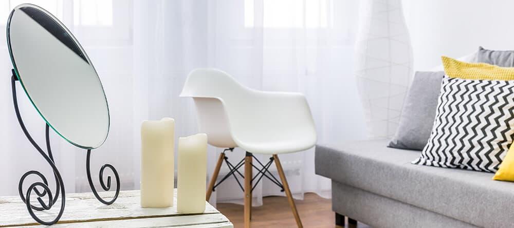 Spiegel ergänzen dein Wohnzimmer in jeder Größe als tolle Dekoration