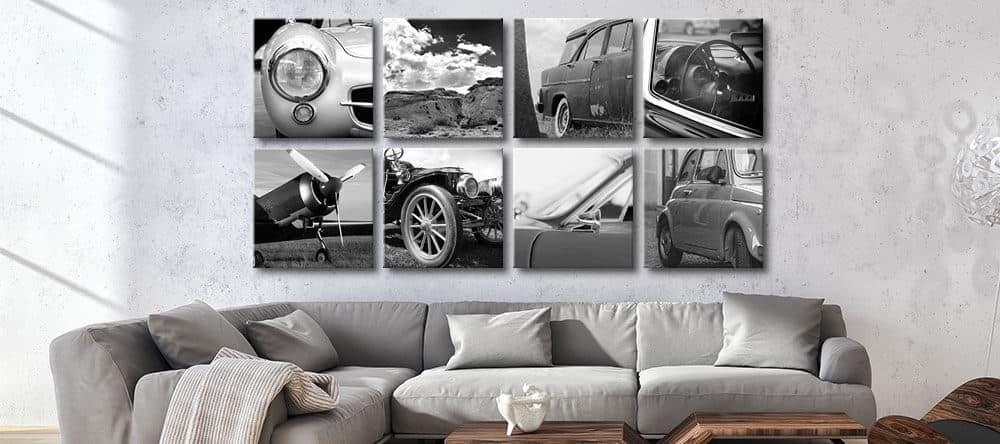 Wand-Deko in Rasterhängung gibt deinem Raum Struktur und sieht toll aus