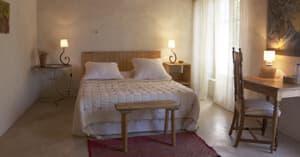 Romantische Atmosphäre im Zimmer