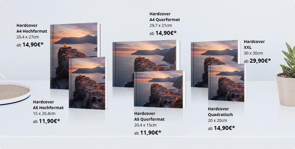 fotobucher in diversen formaten