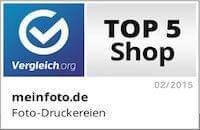 Vergleich.org Top 5 Shop Abzeichen