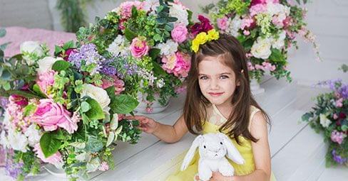 Versieren met bloemen