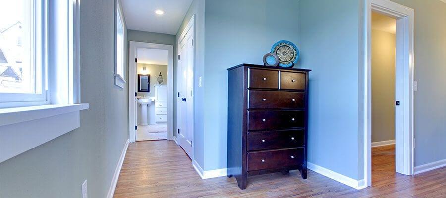 Colores pasteles en el corredor pueden tener una gran influencia en el efecto de tus imágenes