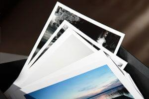 Conocidos y adorados: impresiones fotográficas con papel de alto brillo