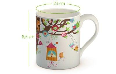 taza porcelana con foto