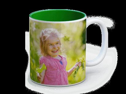 mug personnalise colore