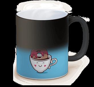 photo sur mug magique
