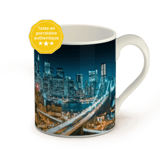 photo sur mug porcelaine
