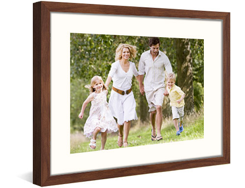 framed photo print complete view