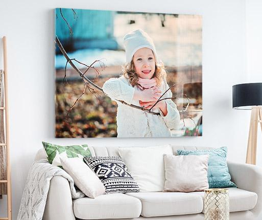 acrylic prints in the room