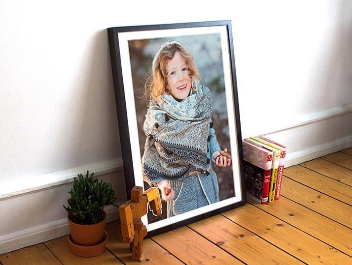 Framed Photo with Passe-Partout