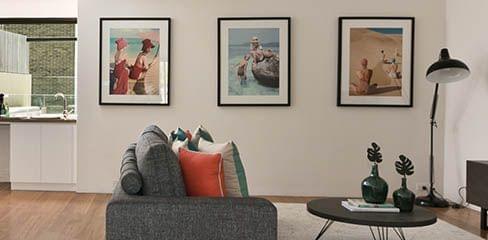 Pareti con immagini in stile gallery