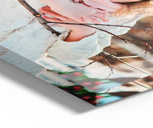 stampa su alluminio vista dettaglio