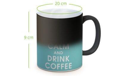 tazza con foto magica