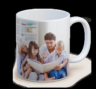 tazza ceramica con foto